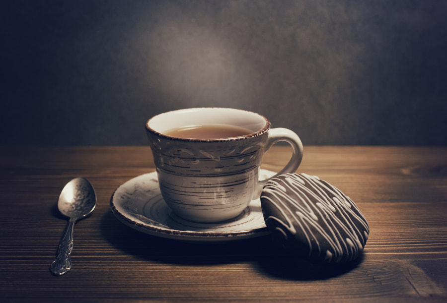 A cup of hot drink by Vitaly Stasov on 500px.com