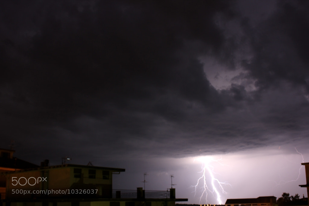 Photograph Lightning by Gianluca Mastrascusa on 500px