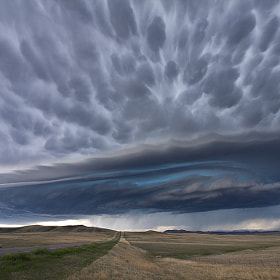 Supercell Thunderstorm by Antony Spencer (TonySpencer)) on 500px.com