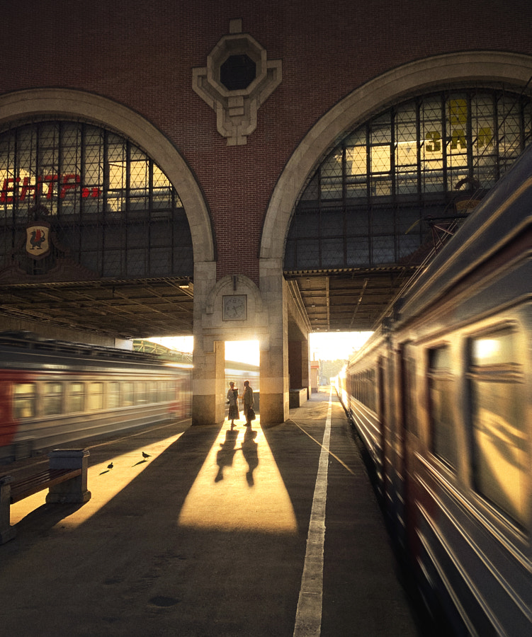 Once at the station.. by Elena Shumilova on 500px.com