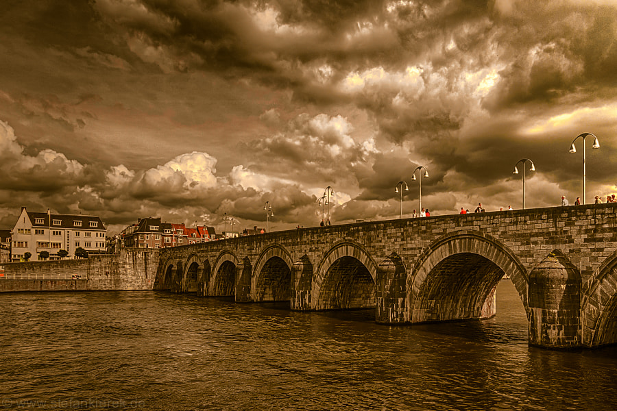 The old Bridge in Maastricht