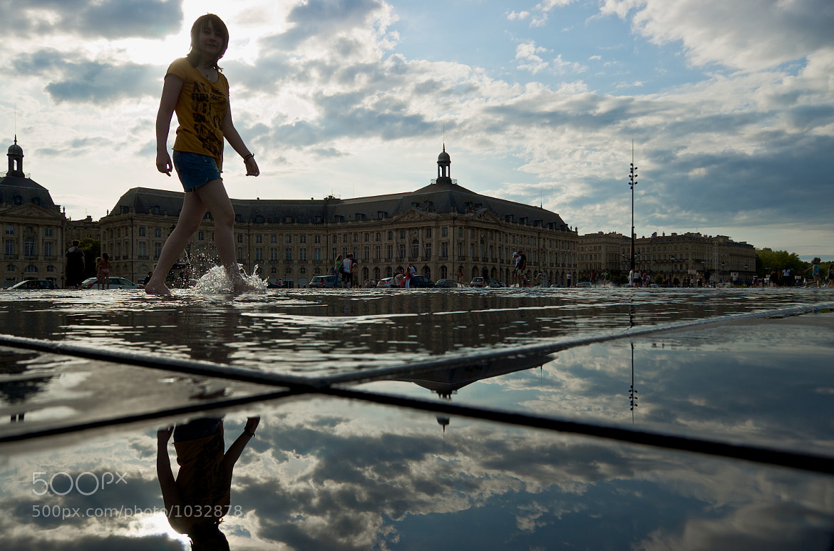 Photograph Feet in the water at Bordeaux by Emmanuel Dubois on 500px