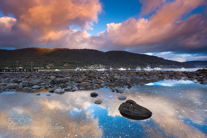Photograph Sunrise Reflections by Alex Wise on 500px
