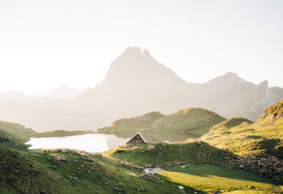Amanecer en lac de ayous by Nacho Zàitsev on 500px.com