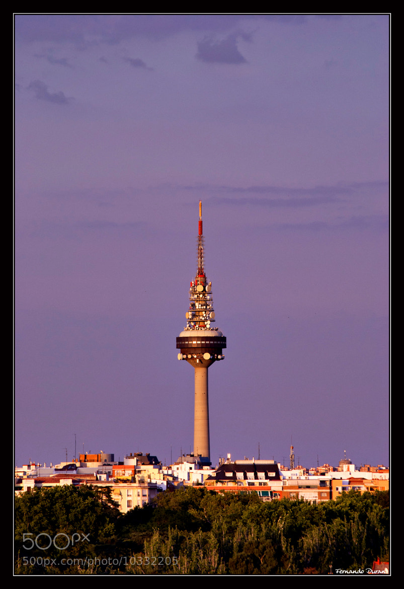 Photograph Madrid TV Tower by Fernando Duran on 500px