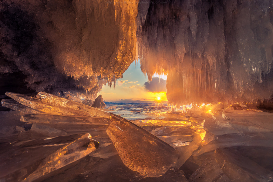 Photograph Fire cave by Coolbiere. A. on 500px
