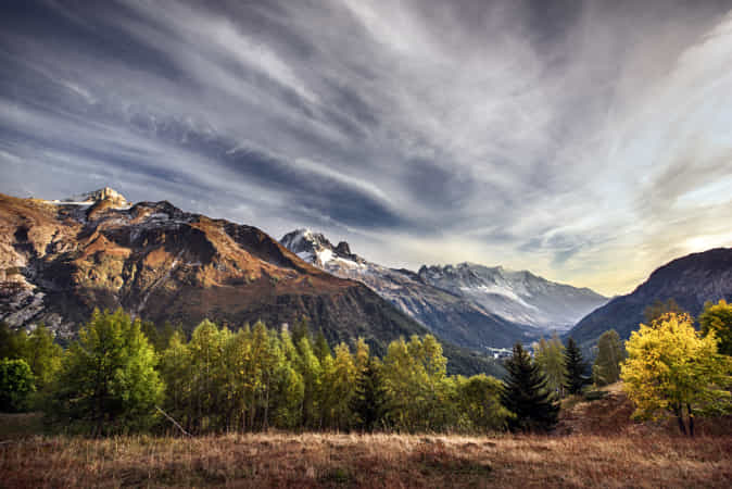 Summit in the evening sunlight by Robert Didierjean