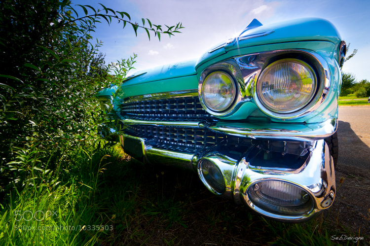 Photograph Cadillac by Sebastien Devigne on 500px