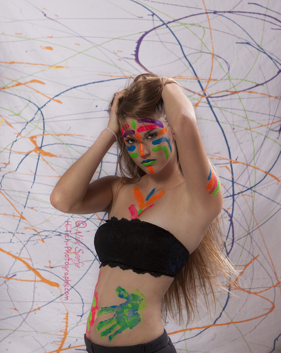 Photograph Lauren Paint by Nick Soefje on 500px