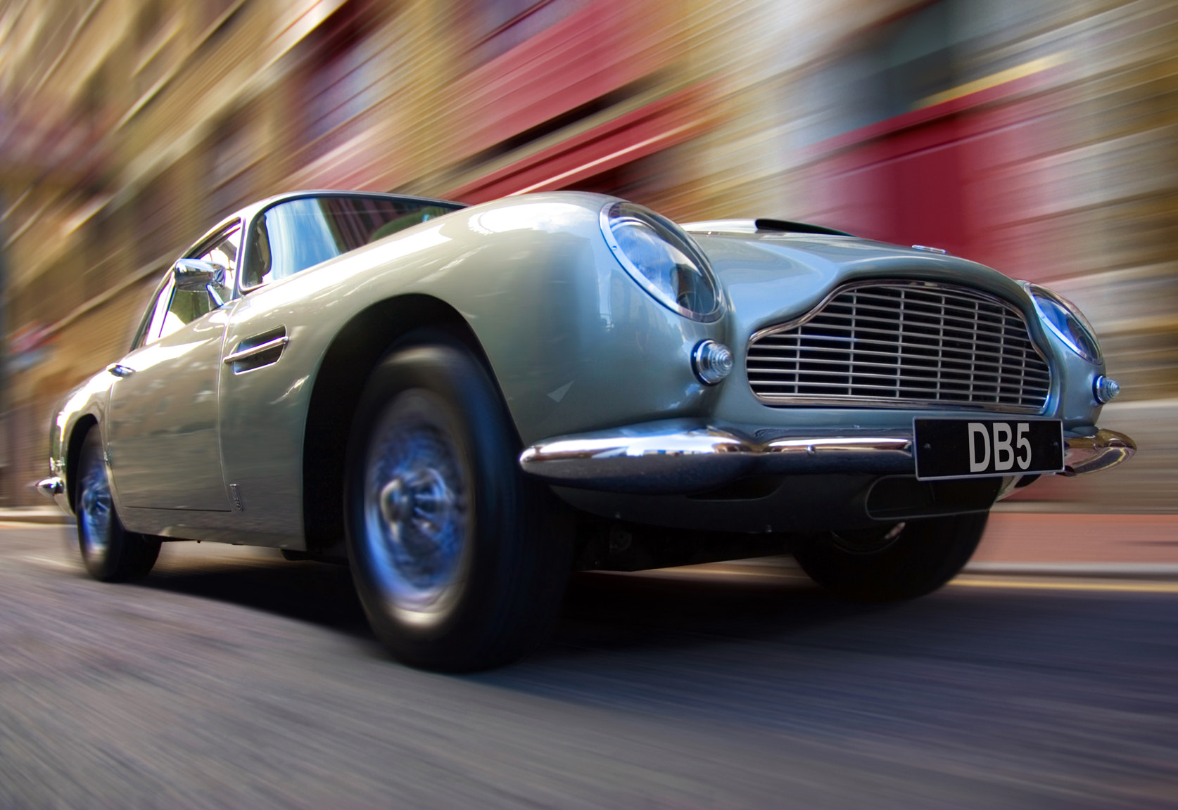 Photograph Aston Martin DB5 by Justin Sneddon on 500px