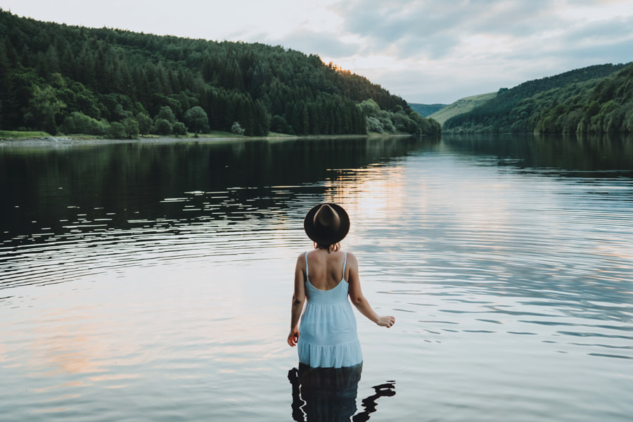 Lady In The Lake by Daniel Casson on 500px.com