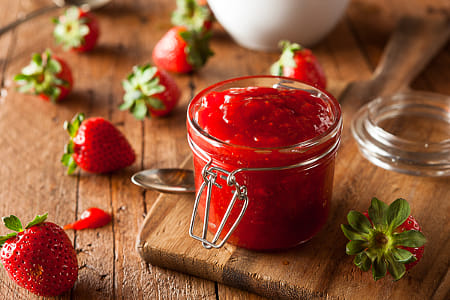 Homemade Organic Strawberry Jelly by Kimberly Potvin on 500px