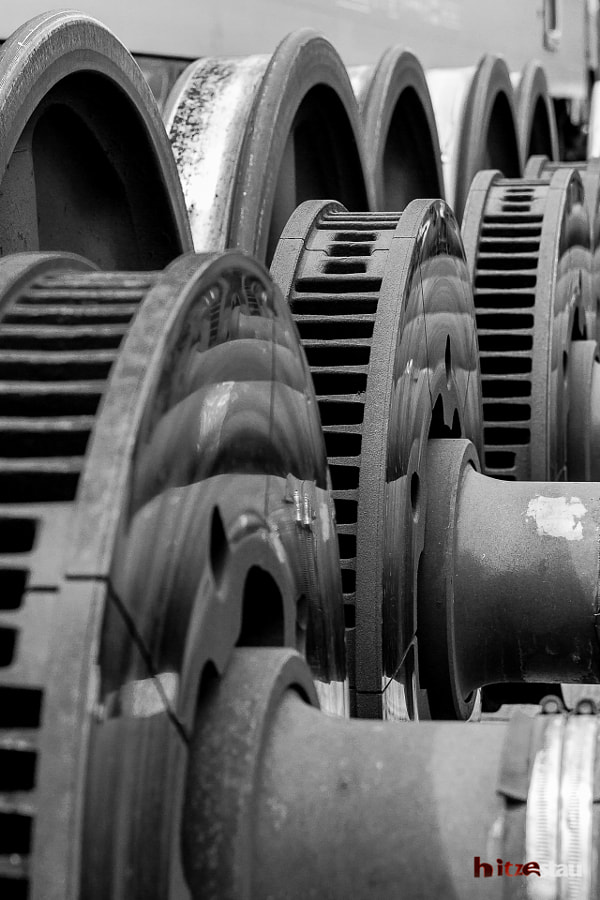 Photograph Railway Axle by hitzestau on 500px