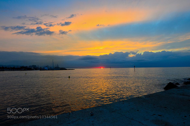 Photograph Sunset at Olimpic Port Barcelona, Spain by Antonio Alberto Rodriguez Martinez on 500px