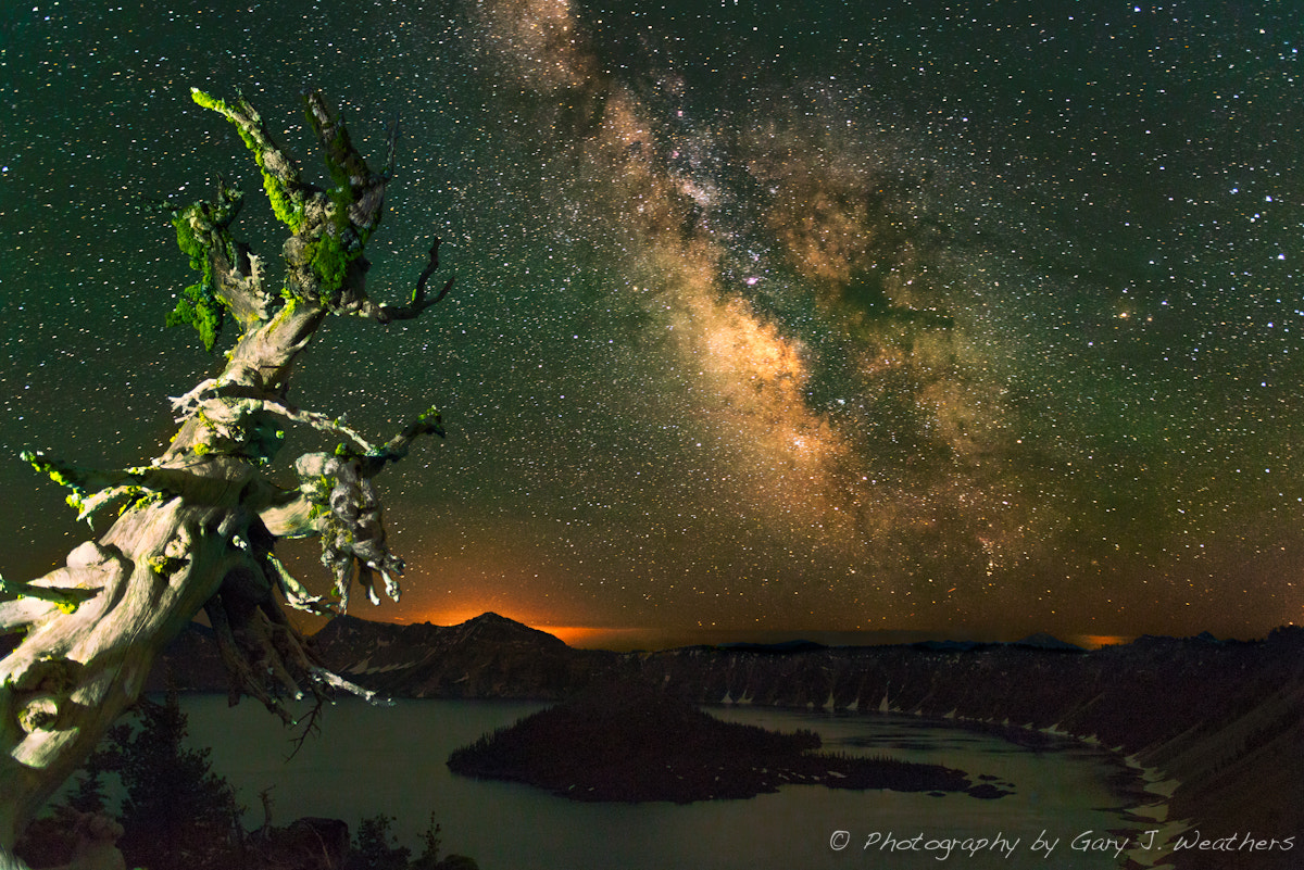 Photograph Our galaxy over Crater Lake, Oregon by Gary Weathers on 500px