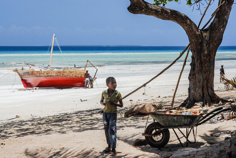 Fishermen's Apprentice - Kizimkazi, Zanzibar