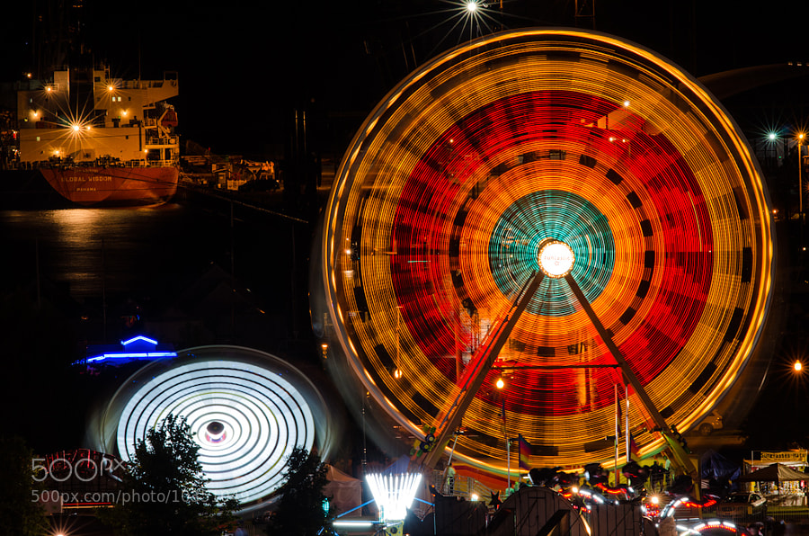 Photograph Spinning Wheels by Scott Wood on 500px