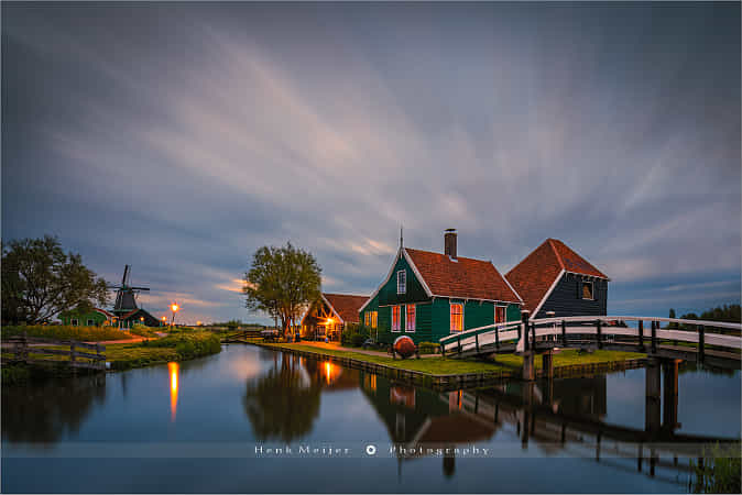 Zaanse Schans by Henk Meijer Photography