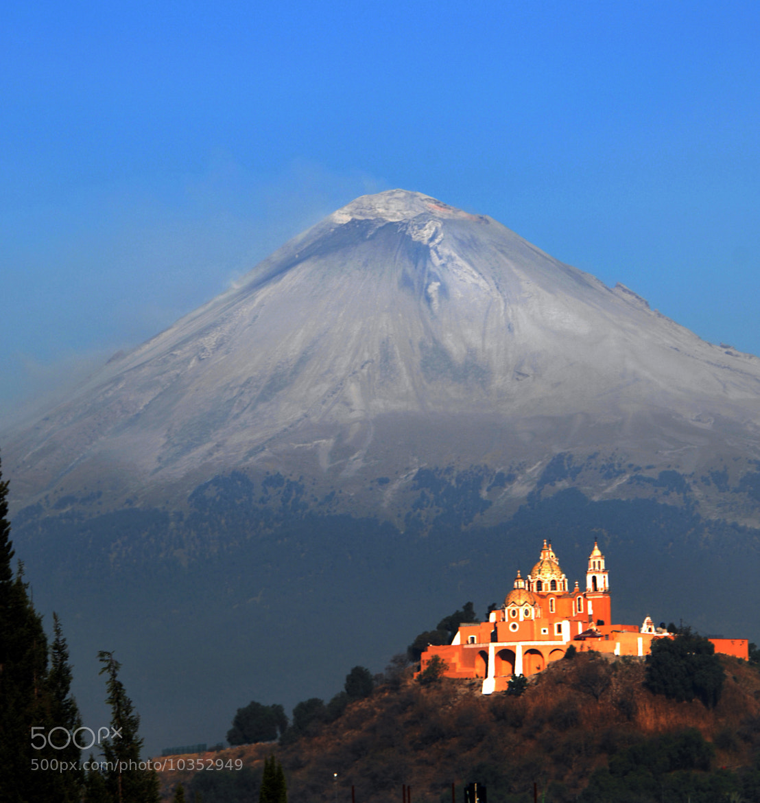 Photograph Iced Volcano and Church by Cristobal Garciaferro Rubio on 500px
