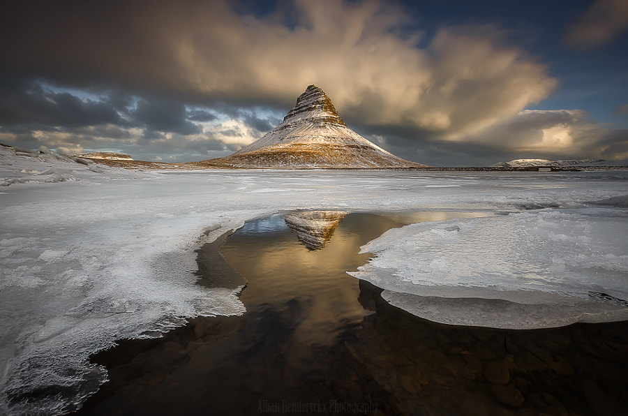The Glow on the Mountain Church by Alban Henderyckx on 500px.com