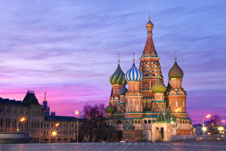 Photograph St. Basil Cathedral by Michael Oreshnikov on 500px