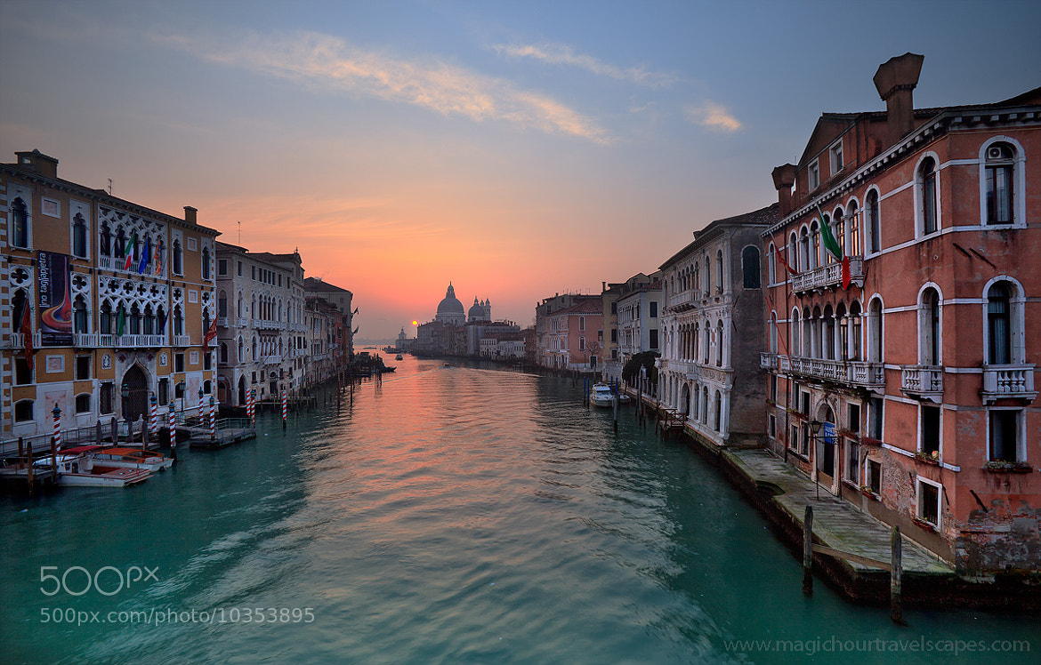 Photograph Grand Canal Sunrise by Kah Kit Yoong on 500px