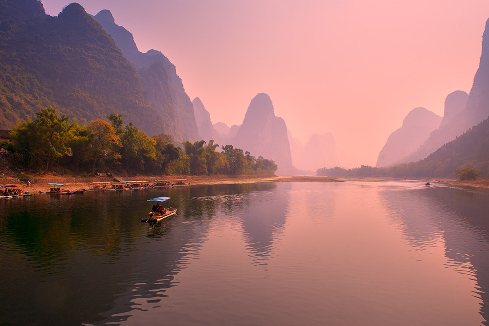 Photograph Pink sunset by Hai Thinh on 500px