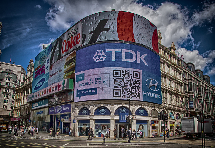 Piccadilly Circus by Daniele Lembo (DanieleLembo)) on 500px.com