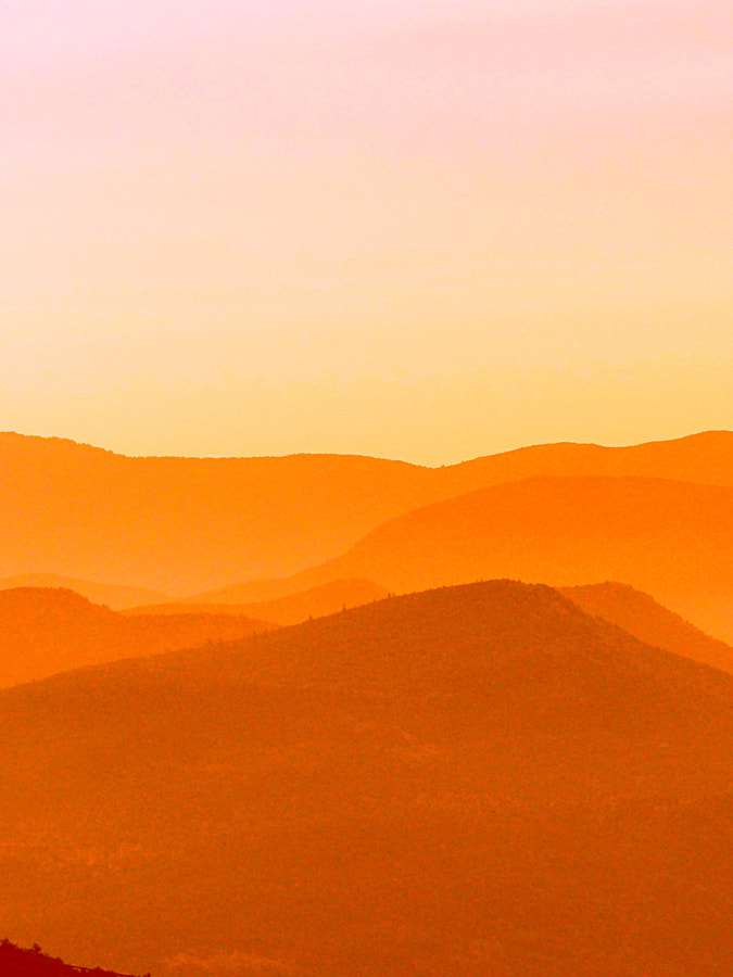 Layers, 50 shades of orange by Yves LE LAYO on 500px.com