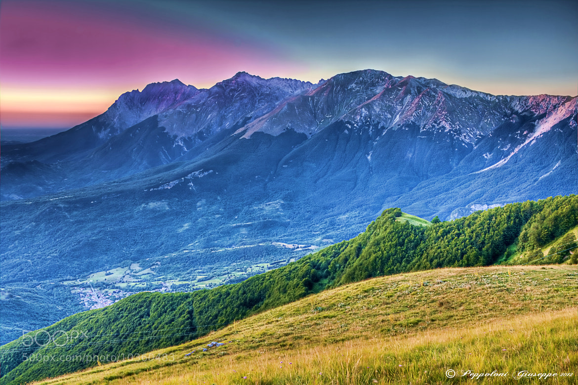 Photograph Lights on the Gran Sasso of Italy by Giuseppe  Peppoloni on 500px