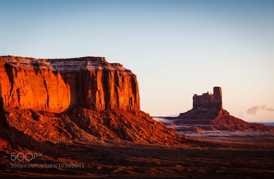 Photograph Monument Valley Morning by PJ Gregory on 500px