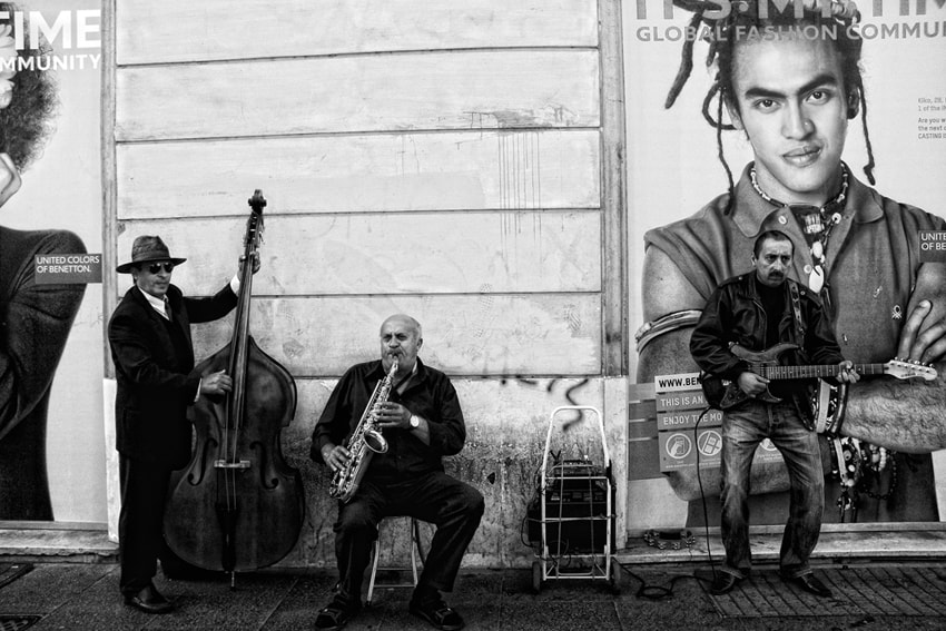 Photograph Street Musicians by mario pignotti on 500px