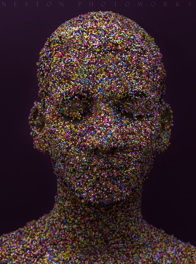 Sprinkles : Creative Portrait. by Neston  Simoes on 500px.com