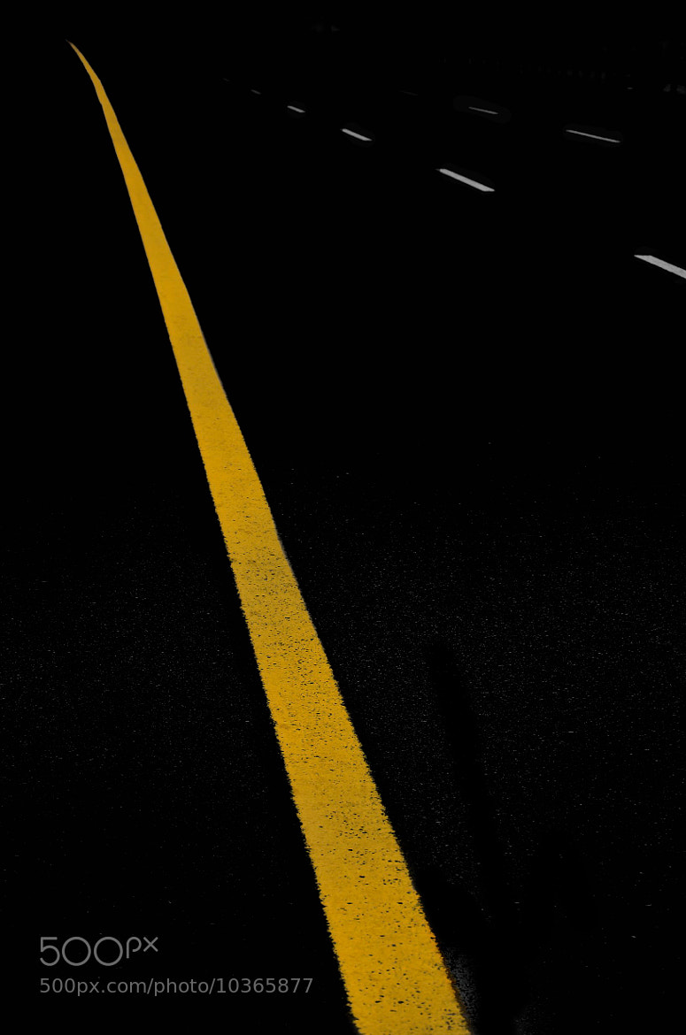 Photograph Yellow Line  by jamil ghanayem on 500px