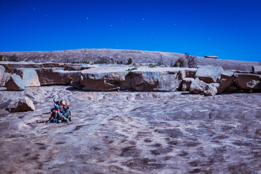 Enchanted Rock State Natural Area. Texas