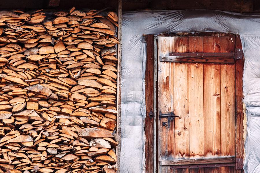 prepared for winter. Ukraine