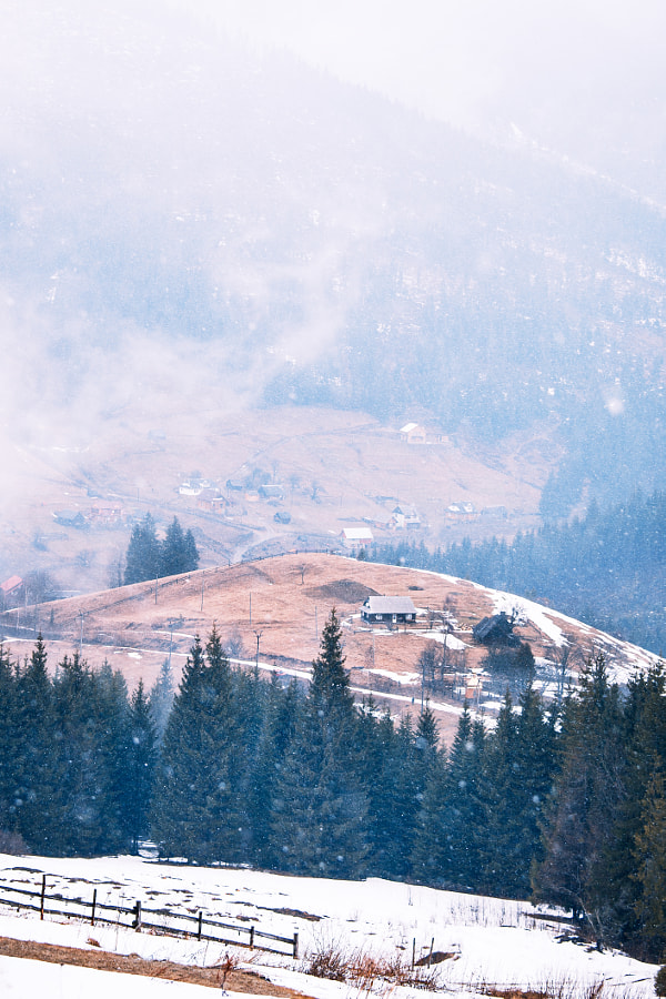 Carpathians Mountains. Ukraine