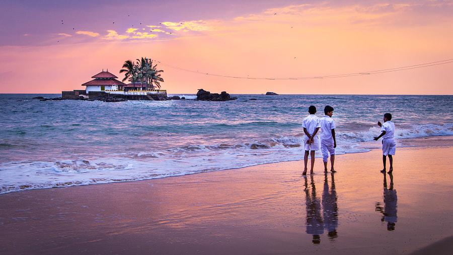 Hikkaduwa. Sri Lanka