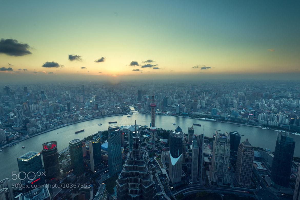 Photograph View from SWFC-Shanghai by Yu Yue on 500px