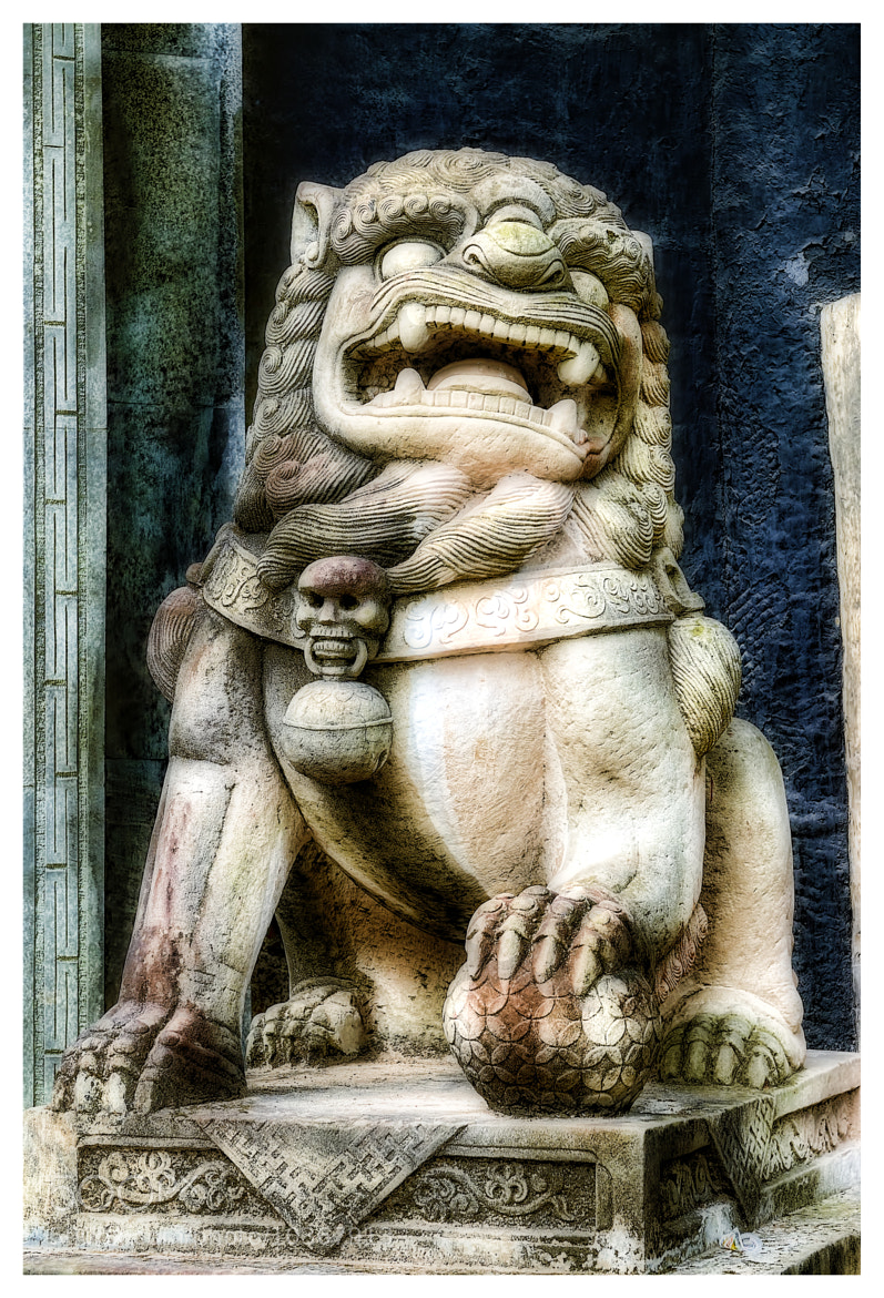 Photograph Chinese guardian lion by Julio Sanchez on 500px
