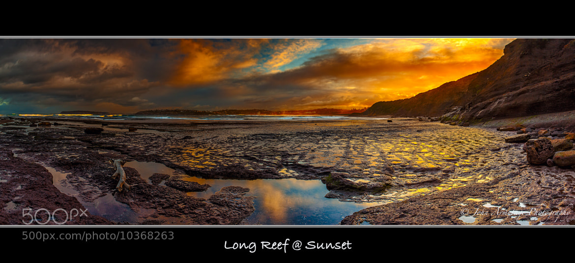 Photograph Long Reef @ Sunset Australia - Pano by John Armytage on 500px
