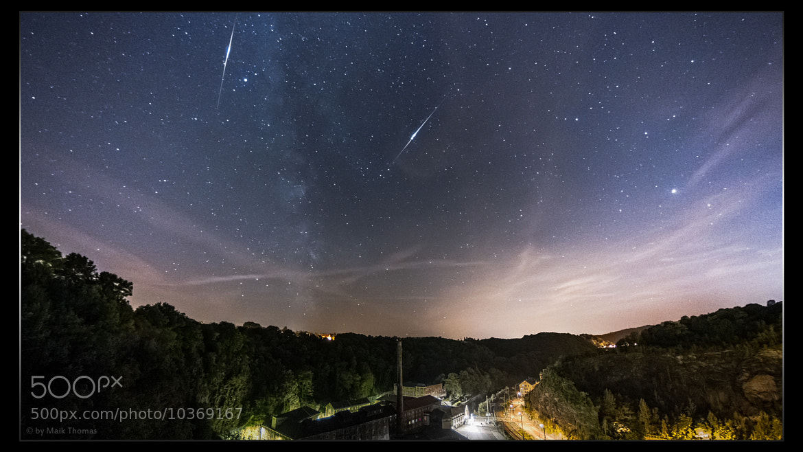 Photograph Iridium Flares / Felsenkeller Brewery by Maik Thomas on 500px