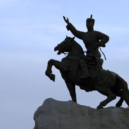 Sikhbaatar Statue