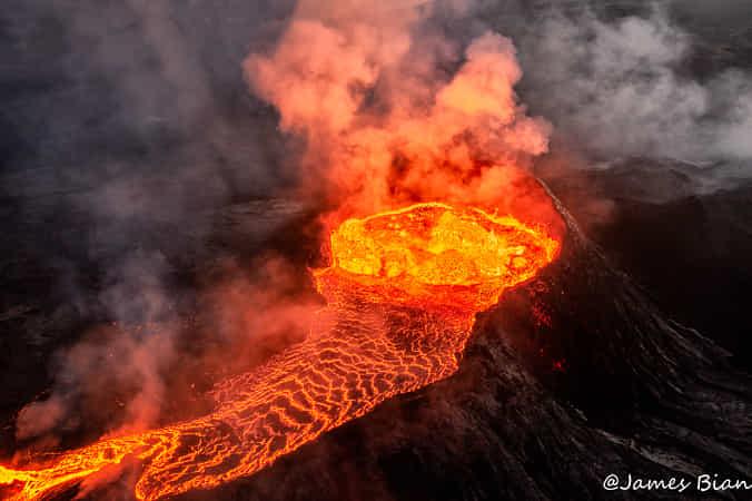 Volcano Eruption by James Bian