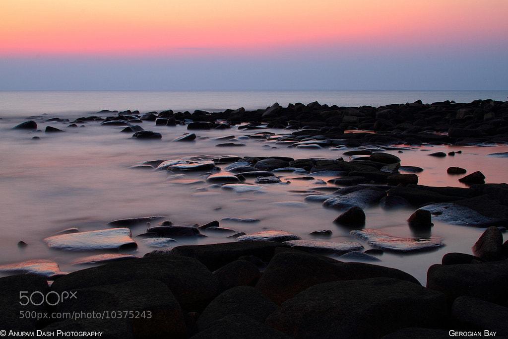 Photograph Georgian Bay Sunrise!! by Anupam Dash on 500px