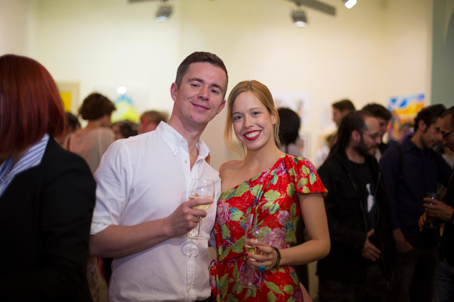 Vernissage at The Ballery (Berlin)