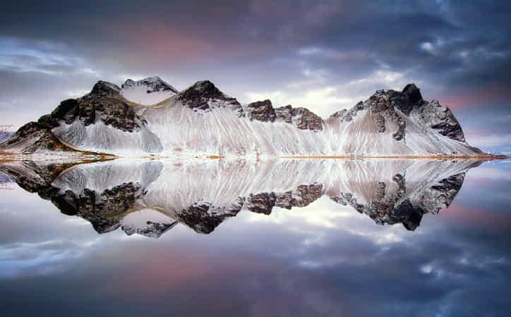 Vestrahorn Reflections by Carsten Meyerdierks