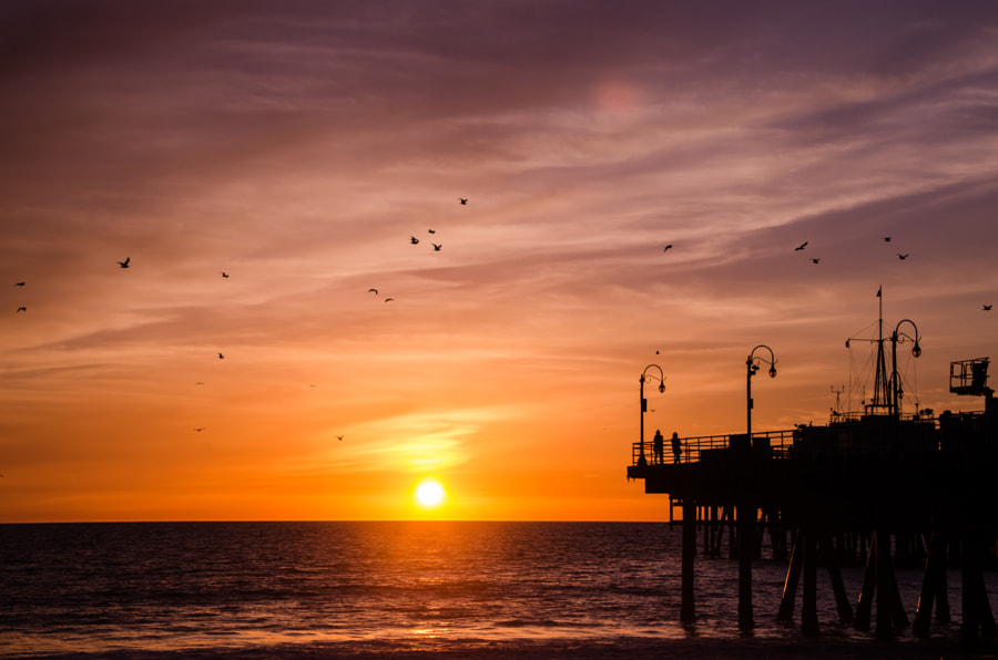 Photograph SoCal Sunset by Fabian Leitz on 500px