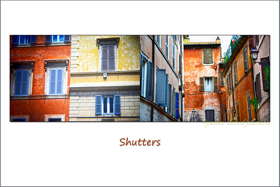 Diptych:  Shutters