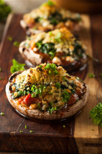 Homemade Baked Stuffed Portabello Mushrooms by Kimberly Potvin on 500px